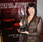 This is a picture of me when I won a prize for screenwriting. There are lots of contests for student writers - try one!